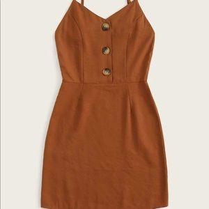 Shein Cami Button Dress